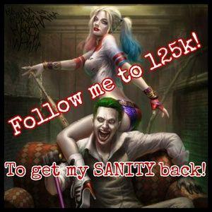Retag! Follow me to 125K!